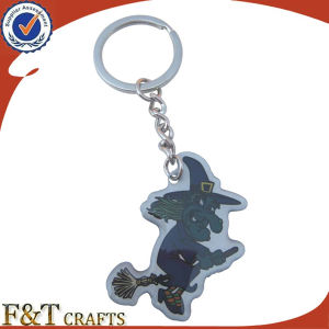 Custom Bottle Shaped Promotion Advertise Braided Metal Keychain (FTKC1851A) pictures & photos