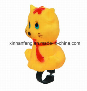 Bicycle PVC Cartoon Cat Horn (HEL-145) pictures & photos