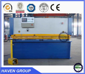 Hydraulic sheet metal shear, sheet shear, steel plate shear pictures & photos