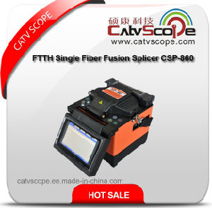 FTTH Single Fiber Fusion Splicer Csp-860 pictures & photos