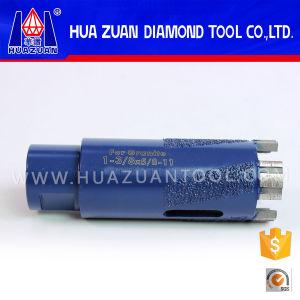 25mm-76mm Vacuum-Brazed Turbo Segmented Core Bit for Granite pictures & photos
