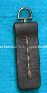 Custom Leather Zipper Pulls Slider for Zipper pictures & photos