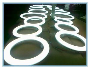 Rechargeable Round Shape IP44 LED Circle Ring Lighting Tube pictures & photos