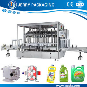 Automatic Cosmetic Shampoo Bottling Bottle Liquid Filling Machine China pictures & photos