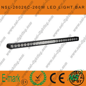43 Inch LED Driving Light Bar, 4x4 260W LED Driving Light, 10W CREE Light Bar, CREE Single Light Bar pictures & photos