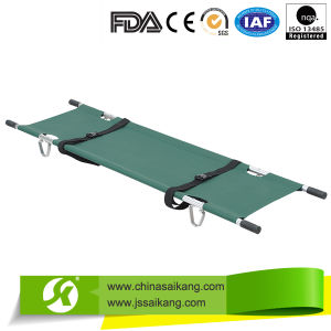 Ce Certification Low Price Aluminium Alloy Foldaway Stretcher pictures & photos