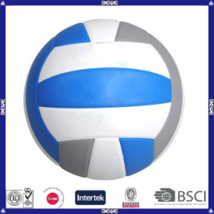 Promotional White Blue Gray PVC Volleyball pictures & photos