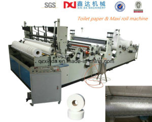 Small Toilet Paper Rolling Making Harvest Machine Cil-Ww-D pictures & photos