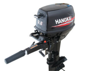 China 9.8HP 2 Stroke Hangkai Outboard Engine Water Cooled pictures & photos