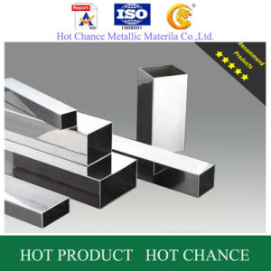 AISI 201.304.316 Stainless Steel Rectangular Pipe400g Polished pictures & photos