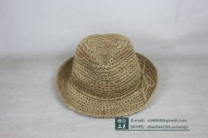 Trilby Straw Hat (OT-XH8014) pictures & photos