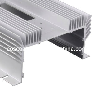 Customized Anodizing Purple Aluminium Heatsink with CNC Machining pictures & photos
