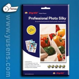 260g 4r/A4 (RC) Microporous Silky Photo Paper pictures & photos