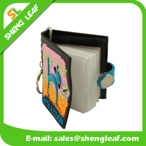 promotional Gift PVC Key Chain with Note Book pictures & photos