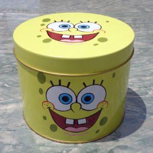 Metal Round Tea Tin Box with Cmyk Printing pictures & photos