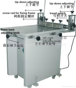 Manual Glass Plane Vacuum Silk Screen Print Machine (TM-6080s) pictures & photos
