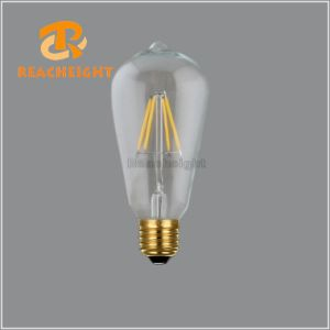 LED St64X4t Dimmable LED Filament Bulb pictures & photos