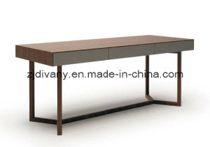 Italian Modern Wooden Desk Study Room Furniture pictures & photos