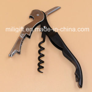 Hot Sale Fashion Multifunction Wine Corkscrew Opener pictures & photos