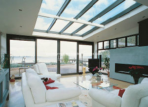 High Value Modern Aluminium Sliding Balcony Doors pictures & photos