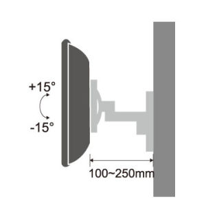"""TV Mounting Bracket with Adjustable Locking System for Most 13""""-27"""" Tvs pictures & photos"""