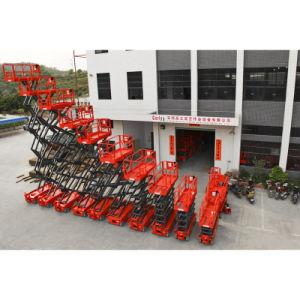 Mobile Hydraulic Fork Man Lift Platform for Sale / Scissor Lifter