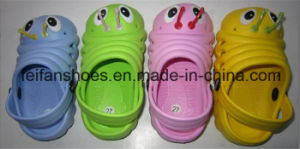 Children EVA Garden Shoes Outdoor Casual Slippers with Customized pictures & photos