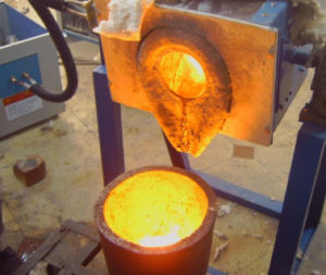 120kw IGBT Induction Heating Forge Furnace pictures & photos