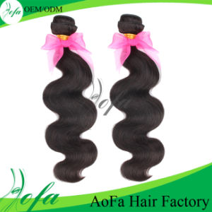Double Drawn Hot Selling Human Hair Extension Brazilian Virgin Hair pictures & photos