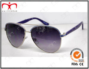 Fashionable Hot Selling UV400 Protection Metal Sunglasses (KM15021) pictures & photos