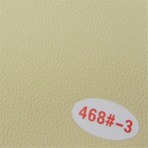 Supply High Grade Abrasion-Resistant PVC Synthetic Furniture Leather pictures & photos