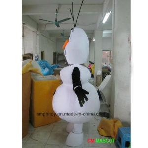 Supply Olaf Snow Man Mascot Costume Cheapter Price for Wear pictures & photos