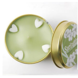 Customizable Scented Soy Candle in Glass Jar with Wooden Lid pictures & photos