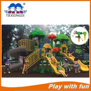 Soft and High Plastic Playground Galvanized Steel Structure pictures & photos