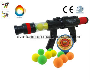 Soft Bullet EVA Foam Ball Gun Toys Red Color Gun