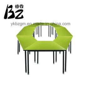 Combined School Table /Student Furniture (BZ-0011) pictures & photos