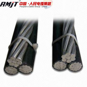 XLPE Insulation ABC Cable with AAC, ACSR, AAAC Messenger pictures & photos
