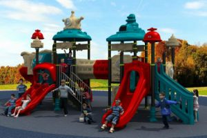 Outdoor Children Playground Slide Park Amusement Equipment pictures & photos