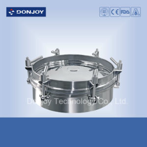 Hygienic Round Manway Cover with Pressure pictures & photos
