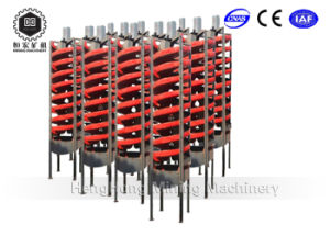 Abrasion Resistant Mining Equipment Spiral Chute for Chromite Ore