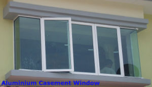 Energy Efficient Aluminium Casement Window with Thermal Broken Profile pictures & photos