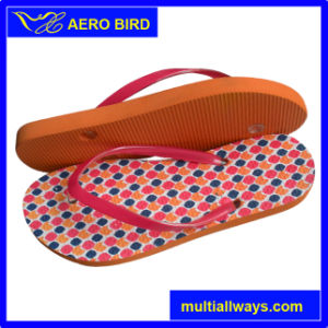 New Fancy PE Slipper with Colorful Print for Girls