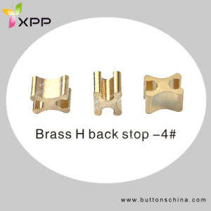 H Type Bottom and Top Stopper for Zipper Accessories pictures & photos