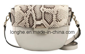 Casual Snake Print Crossbody Bag (LY0269) pictures & photos
