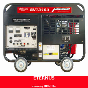 Open Flame Clear Panel Gasoline Generator (BVT3160) pictures & photos