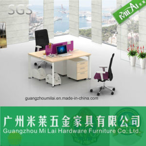Modern Steel Office Furniture Computer Desk with Moving Cabinet pictures & photos