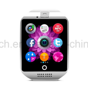 New Fashion Smart Watch Phone with Curved Screen Q18 pictures & photos