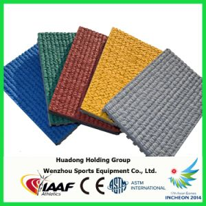 UV Resistance Prefabricated Rubber Athletic Track for Stadium Surface pictures & photos