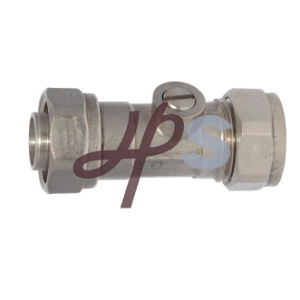 Brass Isolating Compression Ball Valve (HB20) pictures & photos