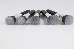 10 PCS Portable High Quality Silver Makeup Brush pictures & photos